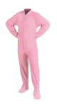 Pink Fleece Kids - PJs with Feet
