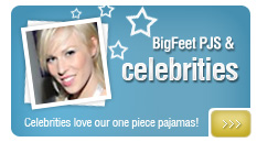 Big Feet PJS Celebrities