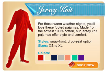 Jersey Knit Footed Collection