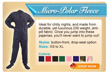 Polar Fleece Footed Collection