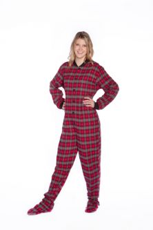 2ad4e23ef87a Women Footed Pajamas   Onesies  Big Feet Onesie Footed Pajamas