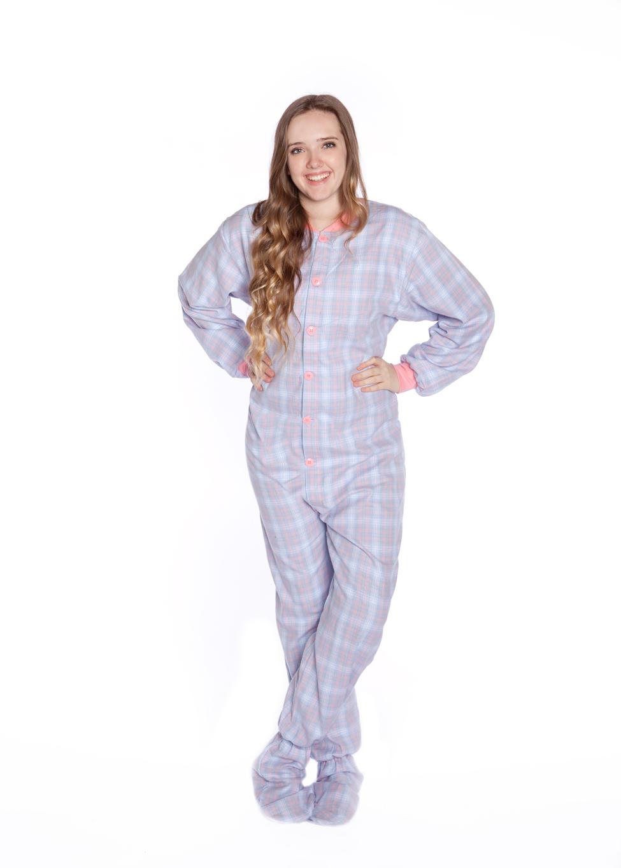 Adult Footed Pjamas 68