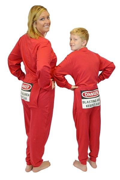 Store fødder footed onesie Pyjamas-2742