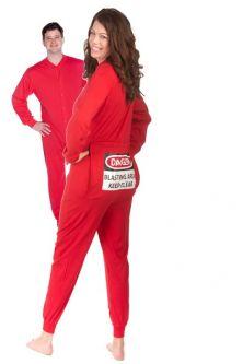 Womens Onesie Pajamas with Back Functional Butt Flap Long Sleeve Bodysuit Sleepwears AODONG Women Jumpsuit Pajamas