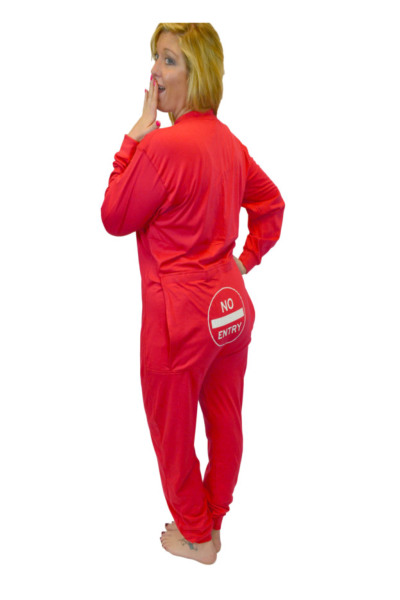 Union Suit Trap Door Big Feet Onesie Footed Pajamas Union