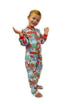 296f89983 All Kids Pajamas  Big Feet Onesie Footed Pajamas