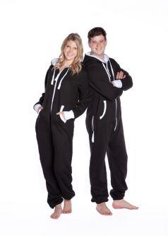 8b4d6aa36807 Adult Hooded Onesie Jumpsuit  Big Feet Onesie Footed Pajamas