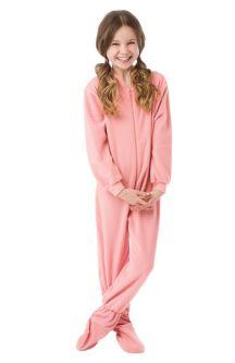 Onesie Pajamas for Kids: Big Feet Footed Onesie Pajamas