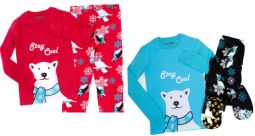 Youth 2 Piece: Big Feet Footed Onesie Pajamas