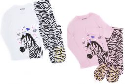 46638f5f7 Youth 2 Piece  Big Feet Onesie Footed Pajamas