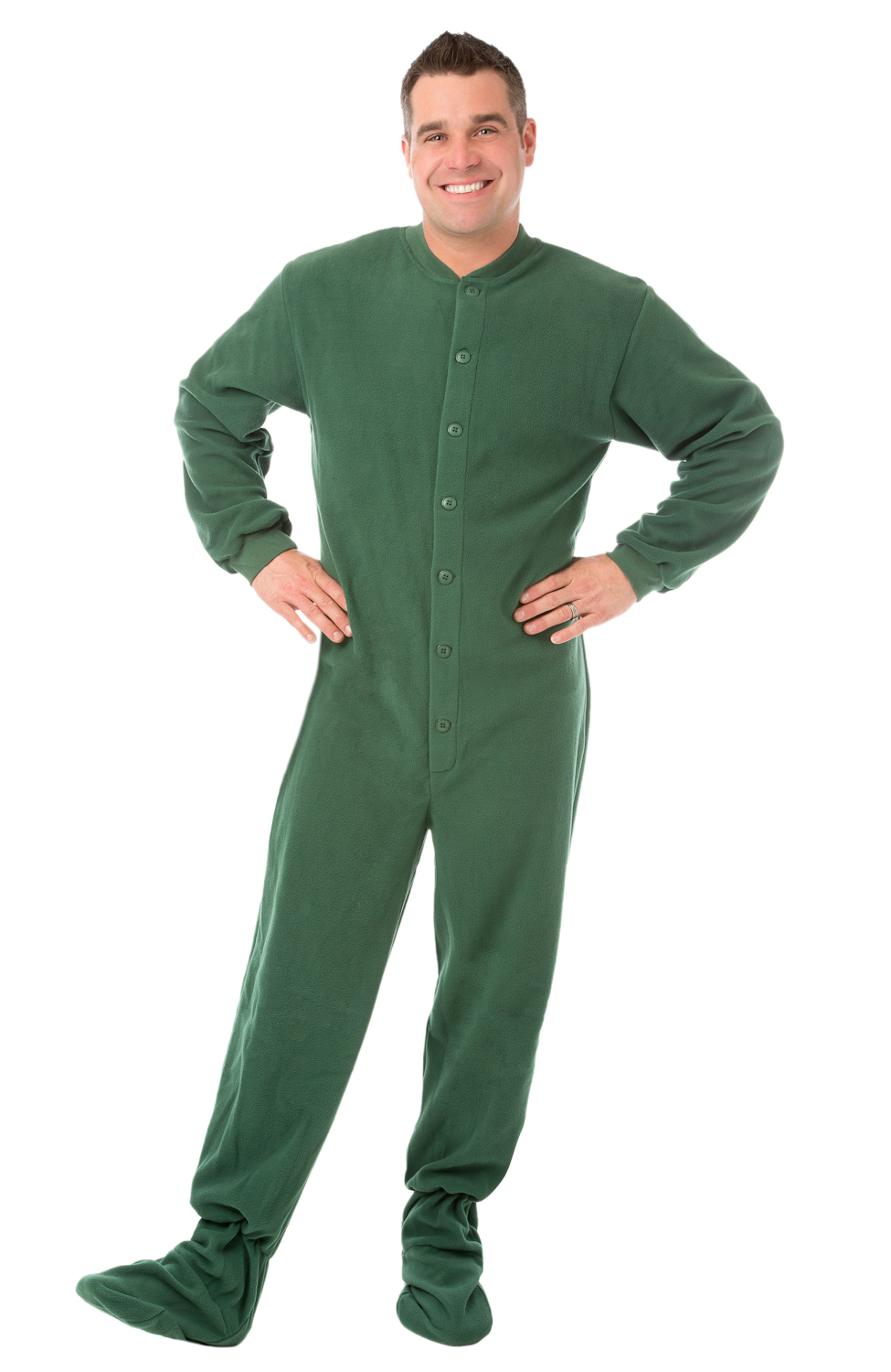 footie pjs for adults drop-seat