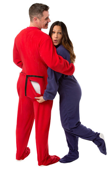 5adfe5e1d1fe Adult Onesies and Footed Pajamas  Big Feet Onesie Footed Pajamas