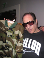 Andrew Dice Clay's footed pajamas