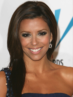 Eva Longoria's footed pajamas