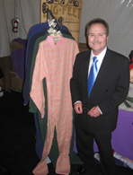 Jon Provost's footed pajamas