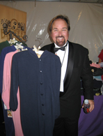 Richard Karn's footed pajamas