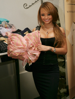 Tila Tequila's footed pajamas