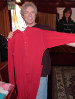 William Katt's footed pajamas